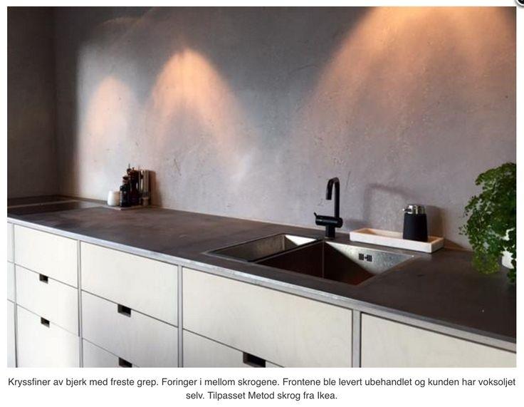 Kjøkkenfronter fra Studio 10