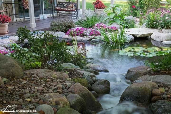 Pin Van Mecca Miron Op Garden Pools Fountains And Streams Tuinkunst Kamerplanten Tuin