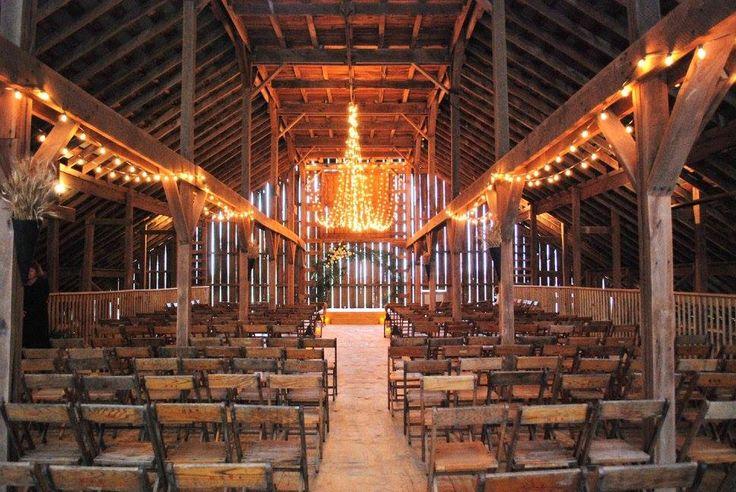 The Barn on Boundary - Eaton IN - Rustic Wedding Guide