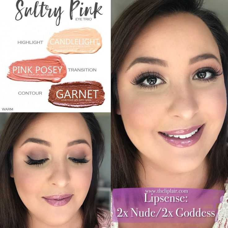 Such a pretty every day glam look using shadowsense and lipsense. I love these shadowsense trios. Shop the look at www.theliplair.com #lipsense #mysenelook #senegence #shadowsense #bellalipsense #goddess #bella #garnet