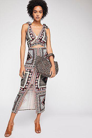 6bb280a3 Katie Patchwork Midi Dress | Ceramics | Dresses, Fashion dresses ...
