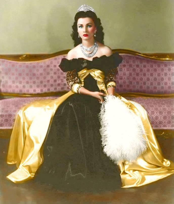 Queen Fawzia of Iran <3
