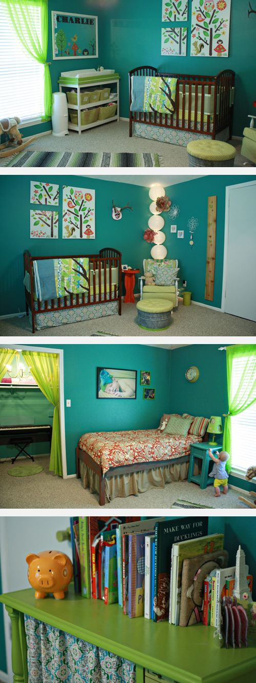 shared boys room / nursery! i may need need this if i have another little boy one day.