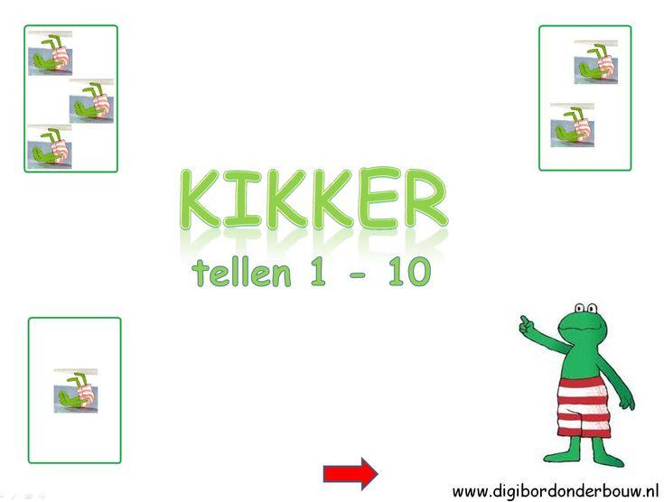 Powerpoint Downloads - Kikker tellen 10