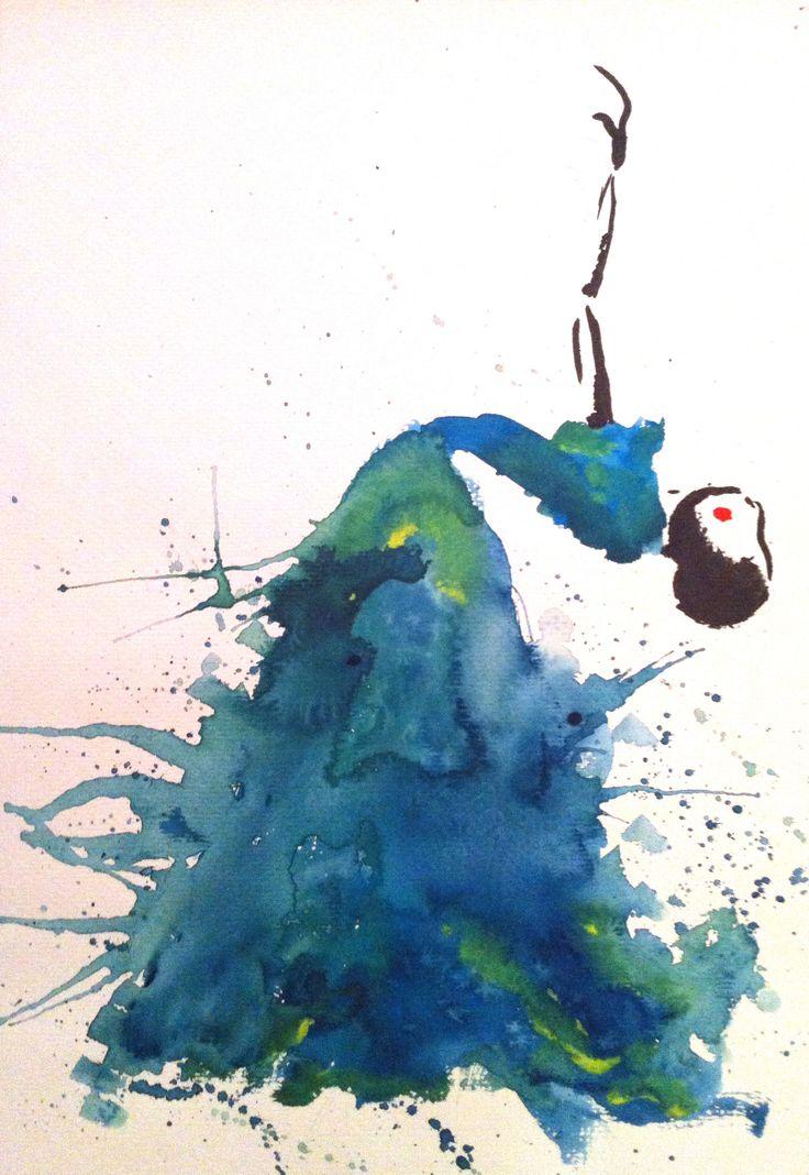drawing waterpaint fashion art
