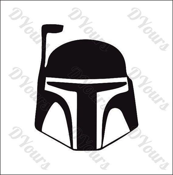 Boba Fett Star Wars Vector Model - svg cdr ai pdf eps ...
