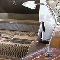 Sleek Fixed Mount Xenon Barbecue Light