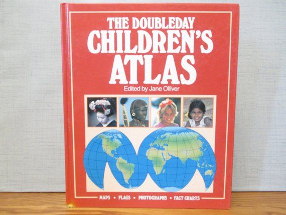 The Doubleday Children's Atlas, Vintage Geography Hardcover