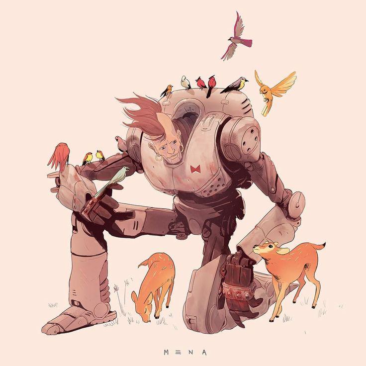 My Android-16 for Xmas   .  .  .  .  #illustration #art #dragonballz #dbz #instartist #graphicdesign #digitalart #illustrationoftheday #lemena