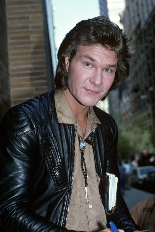 Patrick Swayze, male actor, dancer, artist, r.i.p., Dirty Dancing, North South, portrait, photo
