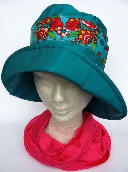 leichter Regenhut farbig  von Janecolori auf DaWanda.com