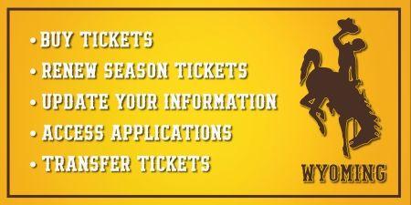 University of Wyoming Athletics | Online Ticket Office | Event/Item List