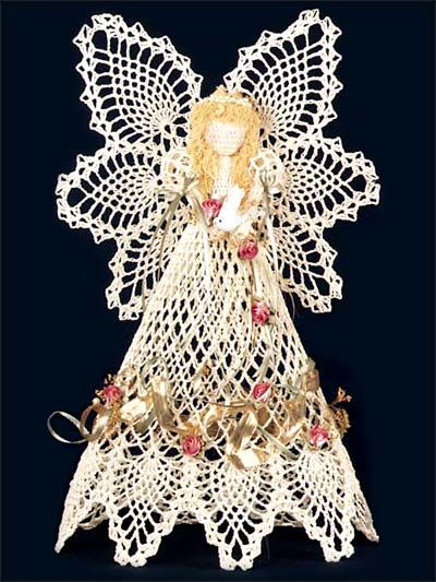 Pineapple #crochet angel pattern for sale through Annie's