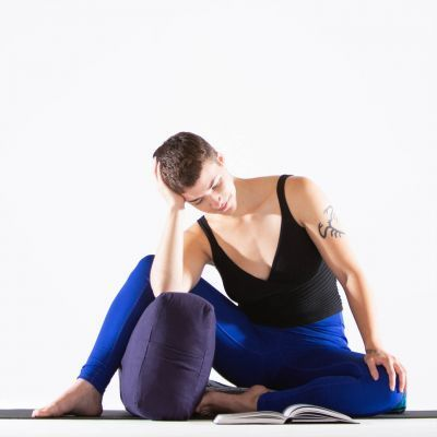 6 restorative poses you can read in  easy yoga poses