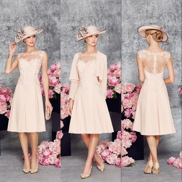 Charming Peach Mother Of The Bride Dresses Chiffon Bateau Prom Dress 2016 Long Sleeves Jacket Vintage Evening Gowns Ronald Joyce Mother Of The Groom Dresses Uk Mother Of The Groom Plus Size Dresses From Everbridal1989, $100.51| Dhgate.Com