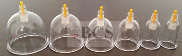 500 CUPPING/HIJAMA CUPS HIGHEST QUALITY, BCS GUARANTEED & FREE CURVED SET