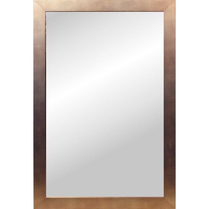 Idemøbler SHOW spejl med kobber ramme kr. 529,- 128 cm højt 58 cm bredt