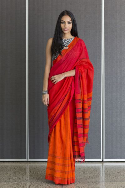 Flame Saree from FashionMarket.LK