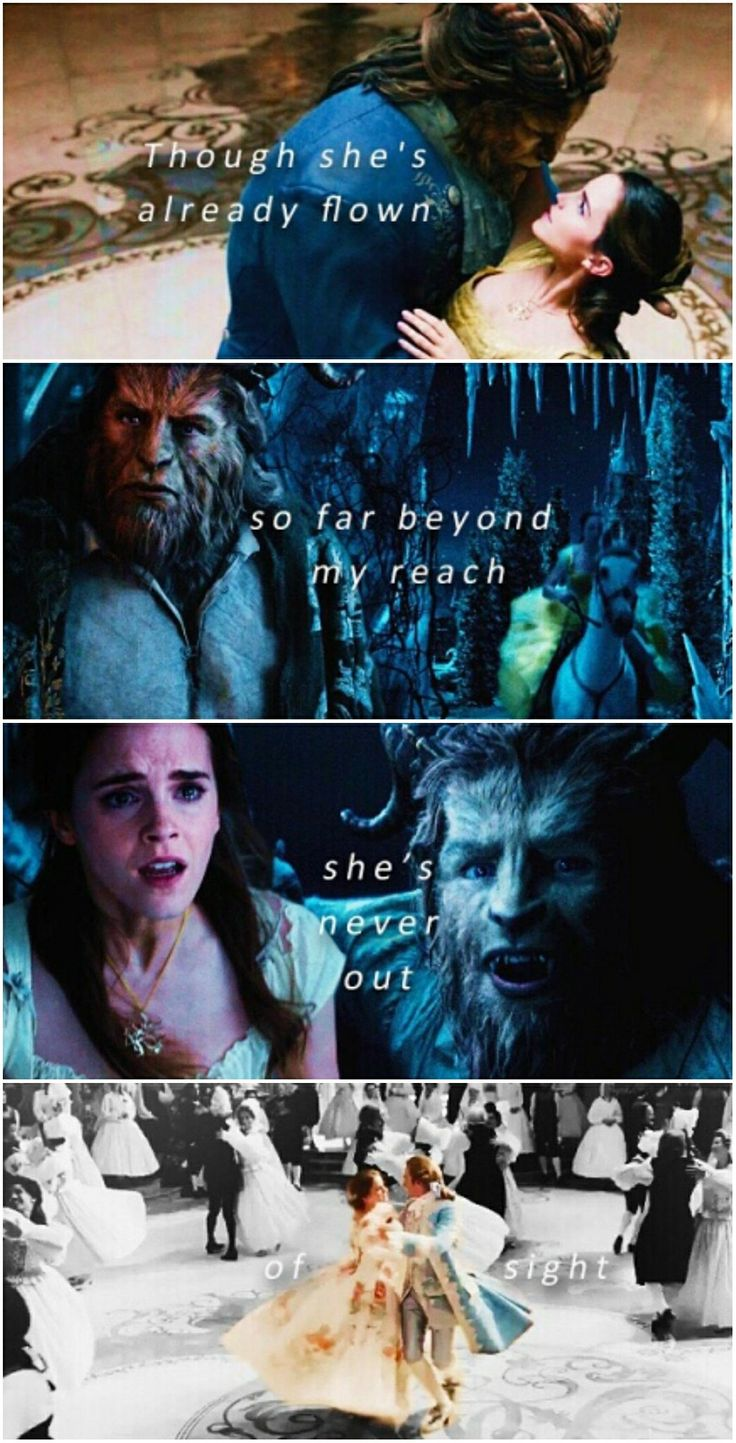 Beauty and the Beast #evermore