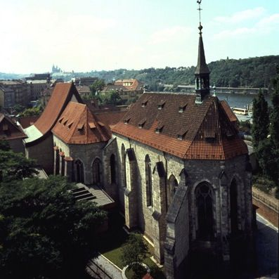 Convent of St. Agnes of Bohemia in #Prague has a wonderful collection of medieval and early Renaissance art   #travel