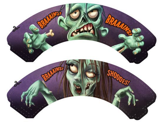 Gratis Zombie Imprimibles disponible solamente en BirthdayExpress.com