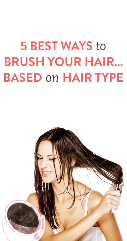 5 Best Ways to Brush Your Hair Based on Hair Type