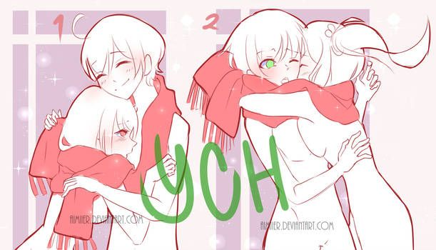 Ych Scarf Open By Mierru Drawing Base Anime Drawing Styles
