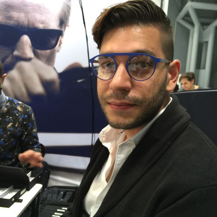 One of the styles we adored at Vision Expo