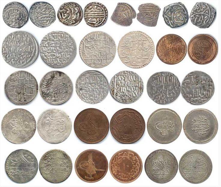 sel231uklu ve osmanlı madeni paraları koleksiyon