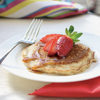 Oat & banana pancakes - so delicious we make them nearly every weekend.