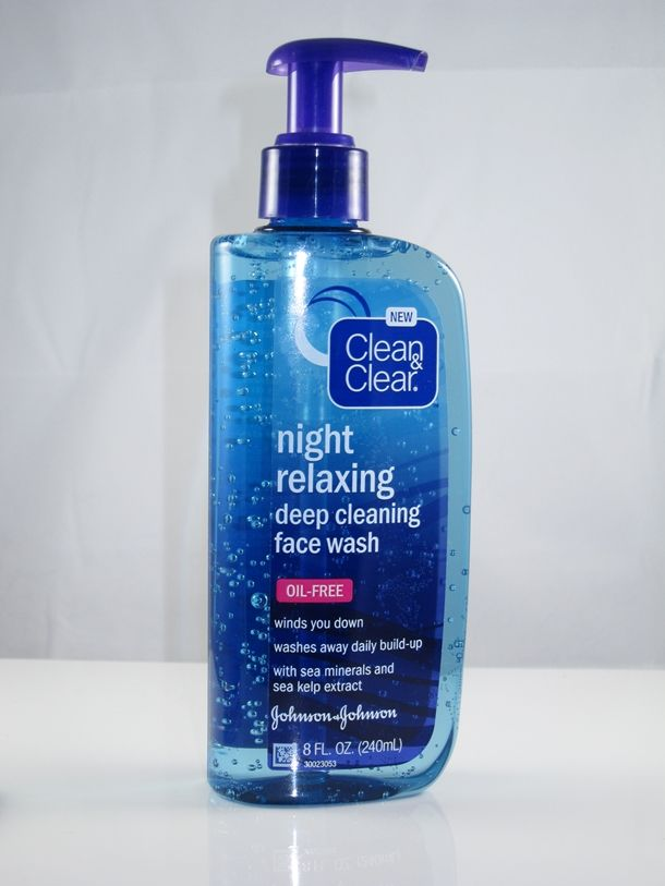 Clean & Clear Night Relaxing Deep Cleansing Face Wash