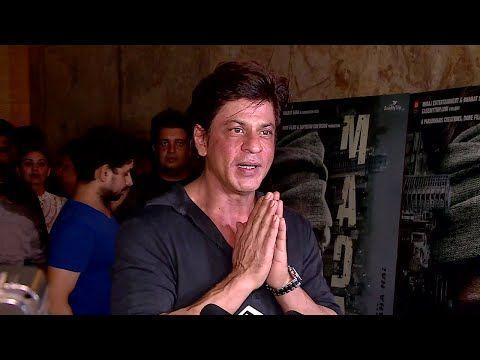 CHECKOUT Shahrukh Khan's reaction after watching Irrfan Khan's MADAARI movie.