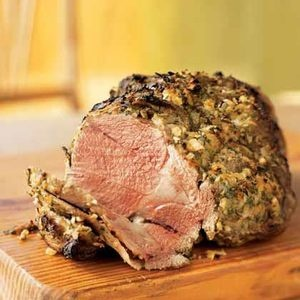 Simple Roasted Leg of Lamb | food: venison, lamb, n other game | Pint ...