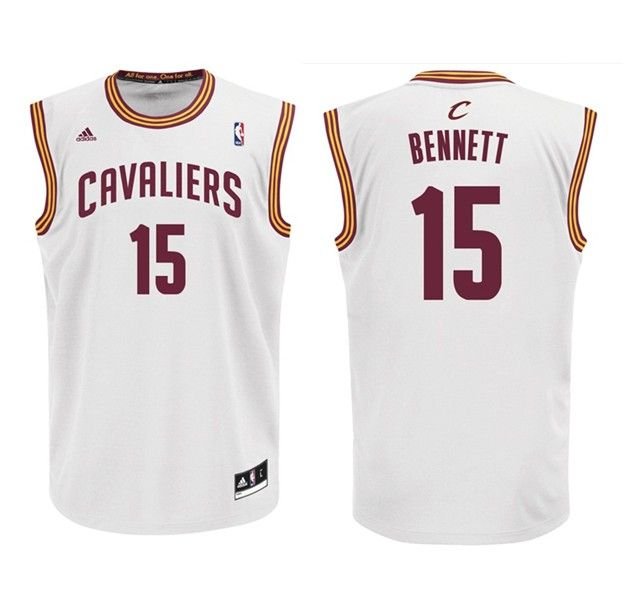 3f683371b242 ... Adidas NBA Cleveland Cavaliers 15 Anthony Bennett New Revolution 30  Swingman Home White Jersey 21.99 ...