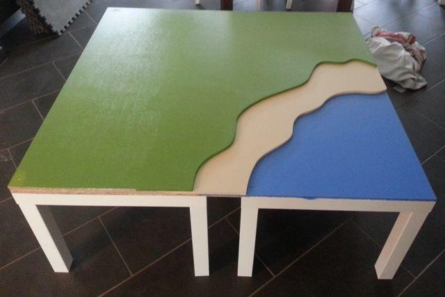 Forums / Autres / Construire une table de jeux Playmobil pour enfants - Mini Créateurs
