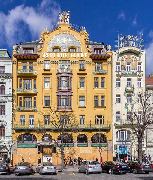 Grand Hotel Europa and Meran Hotel, Prague
