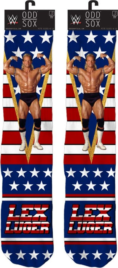 Lex Luger Socks. Geeks:   Enjoy the comfort of home or travel the great outdoors in this men's style shirt that has been designed and illustrated with great art.