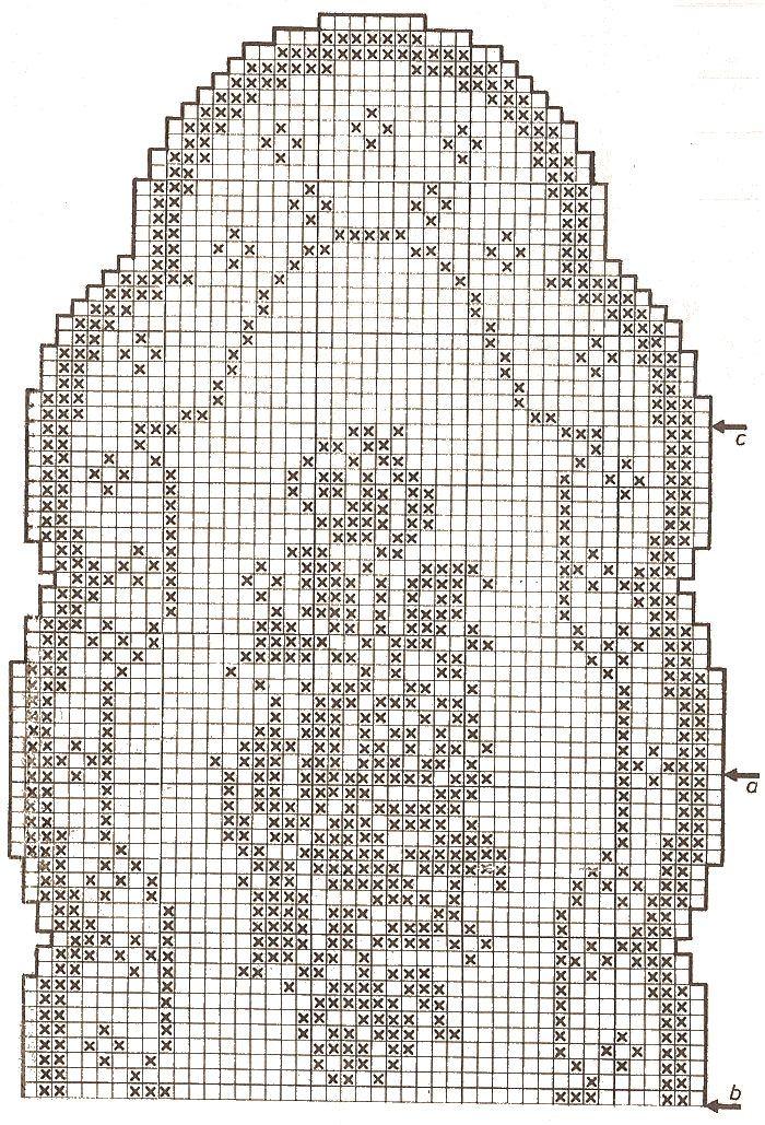 Oltre 25 fantastiche idee su schemi uncinetto filet su for Top all uncinetto schemi