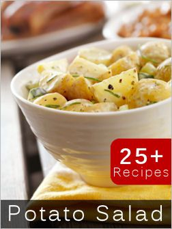 25+ Potato Salad recipes.  You will not have to look anywhere else for Potato Salad Recipes if you pin this one.......twenty-five