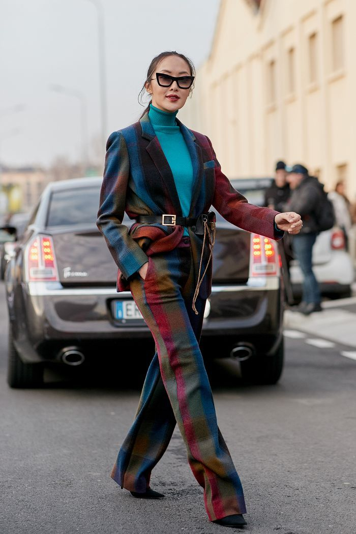 c45395c213034 The Latest Street Style From Milan Fashion Week Fall 2018