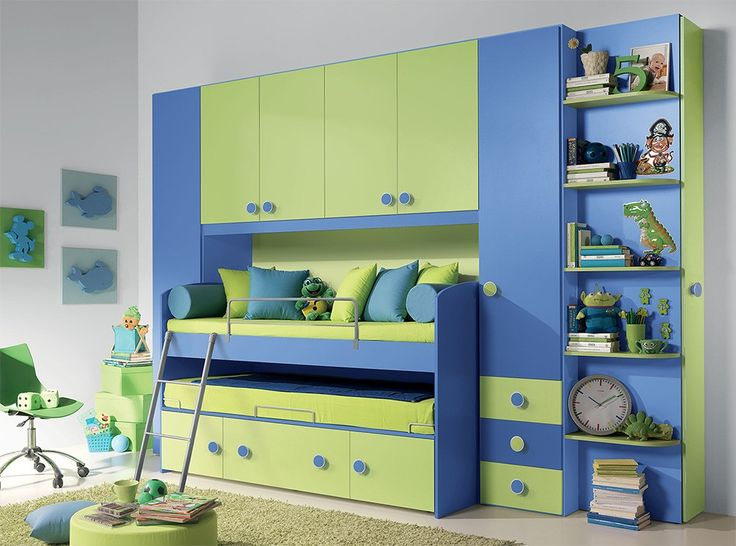 modern kids bedroom furniture set vv g081