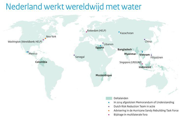 Nederland werkt wereldwijd met water / voor: Water in Beeld, Ministerie van Infrastructuur en Milieu