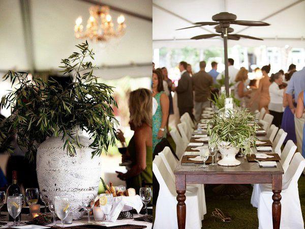 Olive-Branch-Wedding-Statement-Centerpiece-Decor