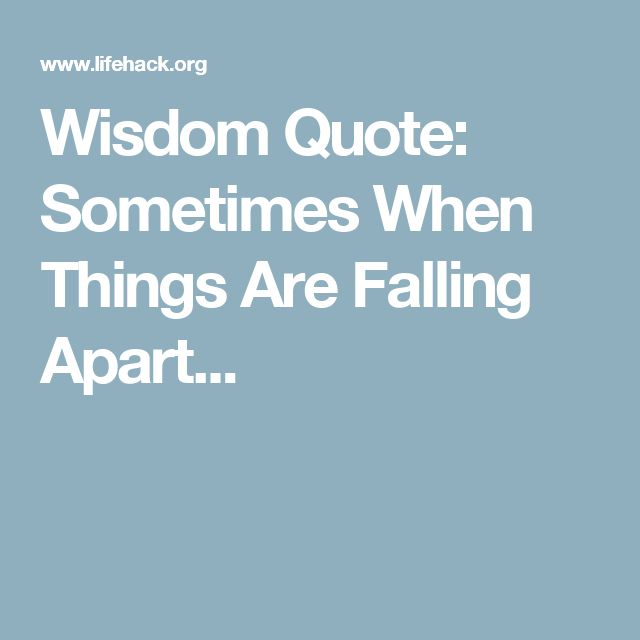 Falling Apart Quotes Tumblr: 25+ Best Falling Apart Quotes On Pinterest