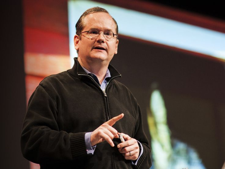 """I <3 Lessig!!! Lawrence Lessig: Laws that choke creativity via TED   Lawrence Lessig, the Net's most celebrated lawyer, cites John Philip Sousa, celestial copyrights and the """"ASCAP cartel"""" in his argument for reviving our creative culture.  Lawrence Lessig has already transformed intellectual-property law with his Creative Commons innovation. Now he's focused on an even bigger problem: The US' broken political system."""