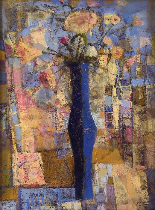 Blue vase by Andrey Aranyshev