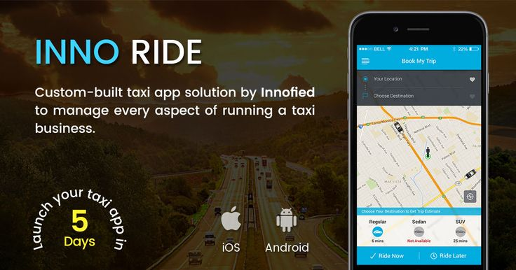 Reach more passengers with Inno Ride - a new, custom-built transport app solution that can be used to create a cab app, bus service app, shuttle app, truck and cargo app, carpool app etc. Launch your app within a few days and start getting bookings:http://bit.ly/2cgaB7q