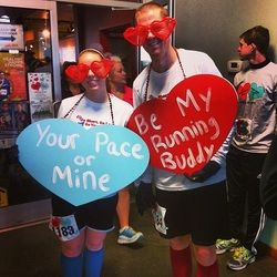 Image result for valentines day running costume ideas