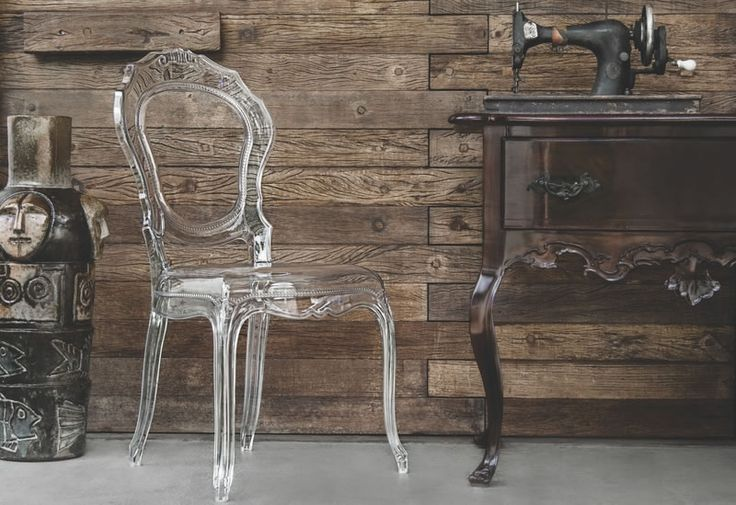 Cadeira Belle Epoque Transparente Tramontina - Foto 1