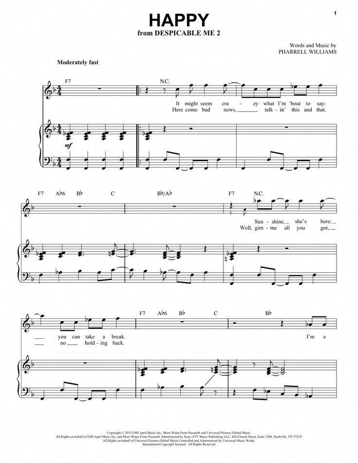 Easy And Popular Piano Sheet Music With Images Piano Notes